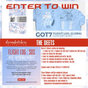 got7: Flight Log Giveaway