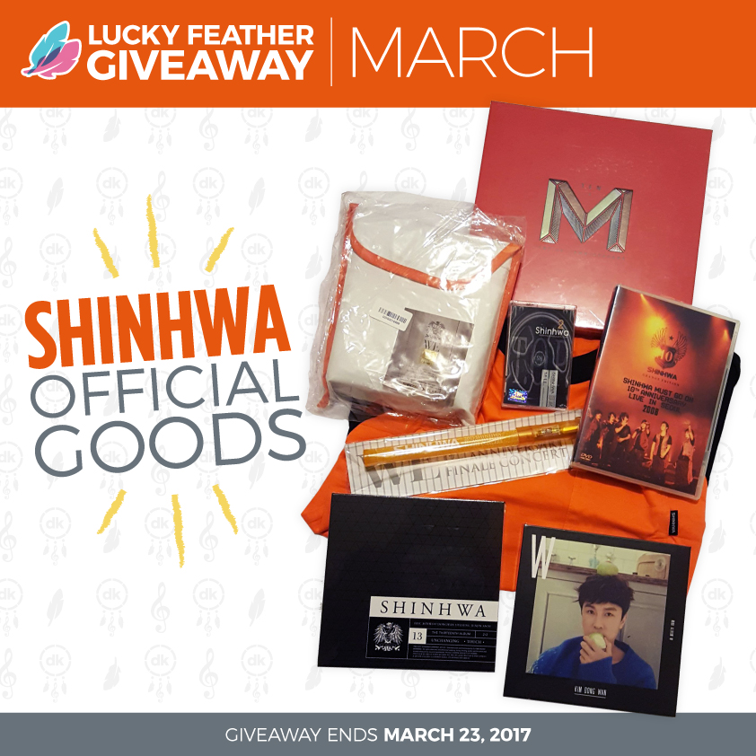 March 2017 Lucky Feather - Shinhwa