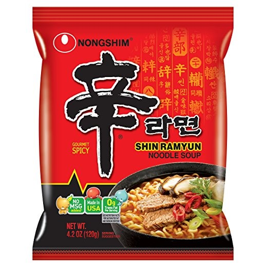 Snack Sunday: Nongshim Shin Ramyun Noodle Soup, Gourmet Spicy