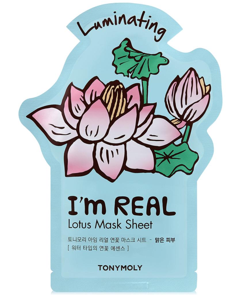 beautiFRIDAY: TONYMOLY I'm REAL Lotus Mask Sheet