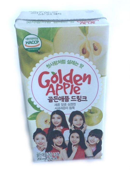 Snack Sunday: GFriend Drink (Golden Apple)