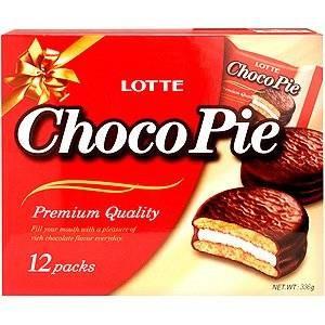 Snack Sunday: Lotte Choco Pie