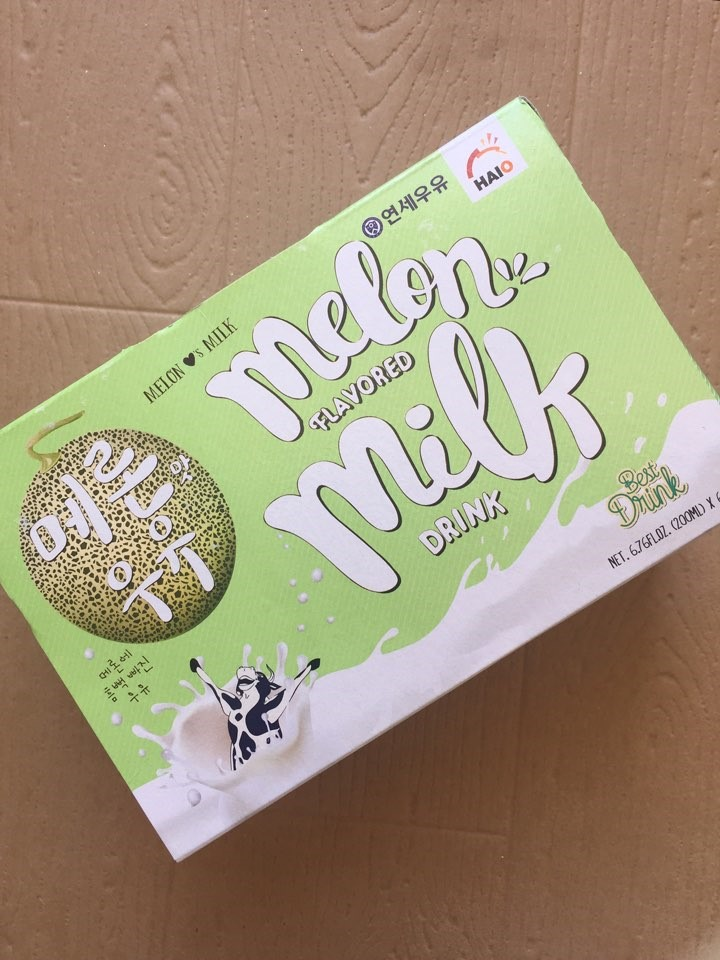 Snack Sunday: Melon Flavored Milk