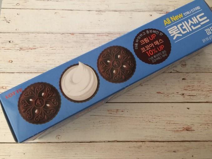 Snack Sunday: Lotte Sand Cookie