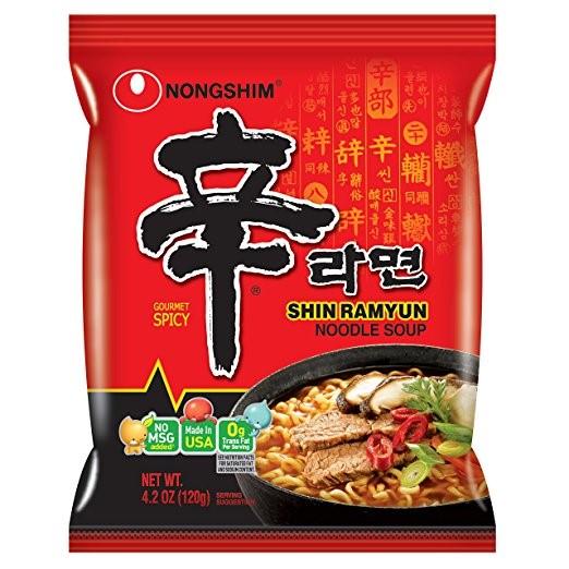 Snack Sunday: Nongshim Shin Ramyun Noodle Soup, Gourmet Spicy