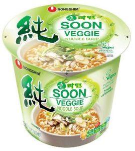 Snack Sunday: Nongshim Soon Noodle Soup (Veggie)