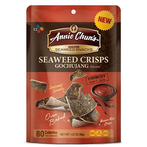 Snack Sunday: Annie Chun's Seaweed Crisps Gochujang flavored