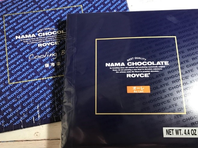 Snack Sunday: ROYCE Nama Chocolate