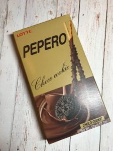 Snack Sunday: LOTTE Pepero Choco Cookie